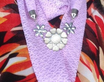 Jewellery Scarfs-Handmade Scarf-Neck Wamer-Stylish Scarf.