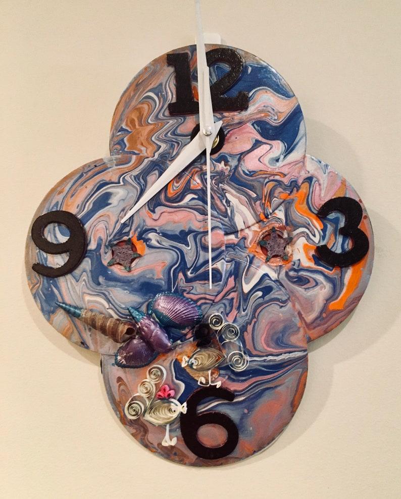 DVD Clock Handmade by Elly image 0
