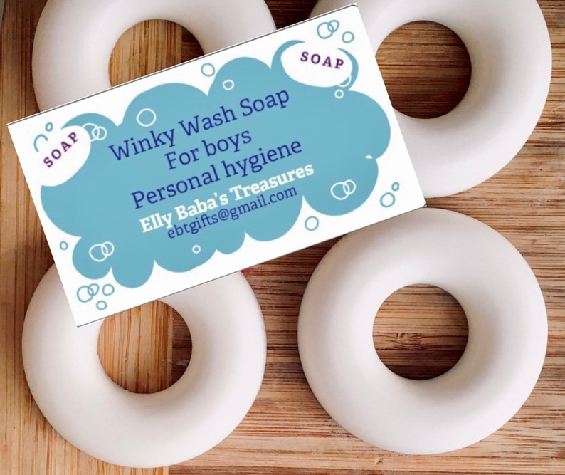 Winky Wash Soap for Boys Personal Hygiene-Gift image 0