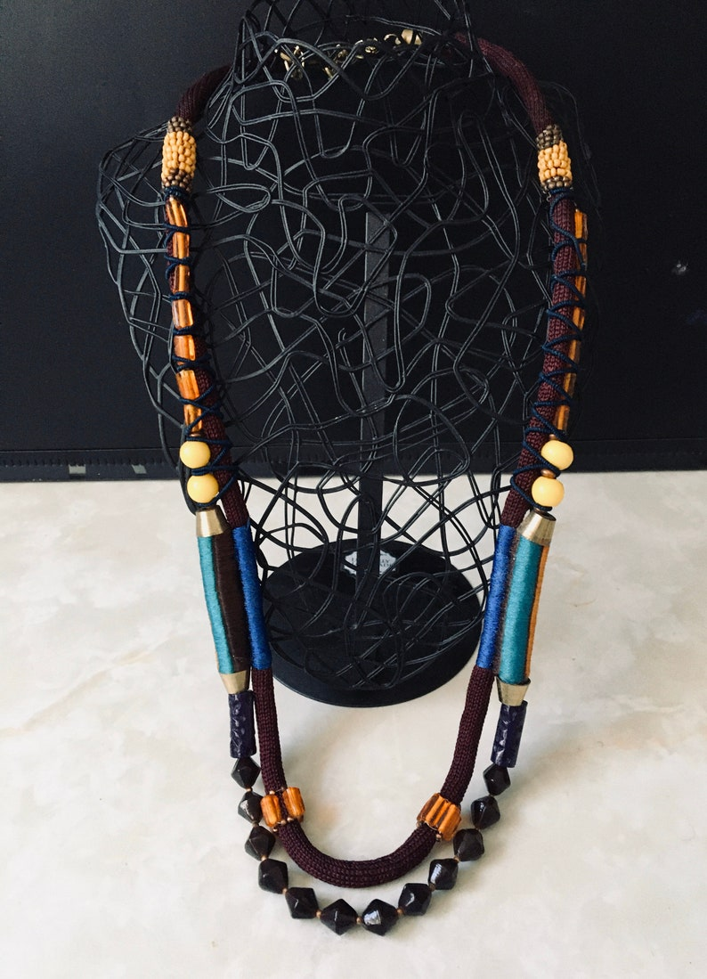 Beaded Necklace-Gifts-Jewellery-Birthday-Christmas image 0
