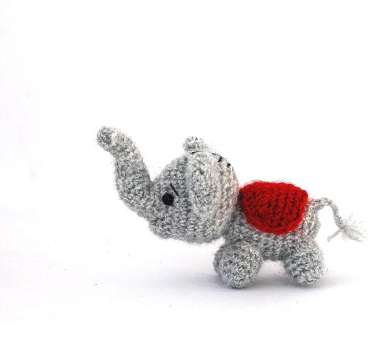 Amigurumi Elephant Tiny Elephant Doll Small Toy Little Etsy