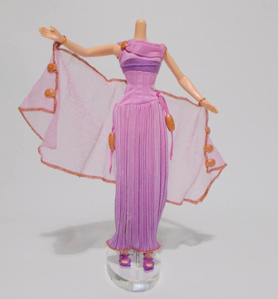 Disney Megara muñeca vestido moda Hércules púrpura falda   Etsy