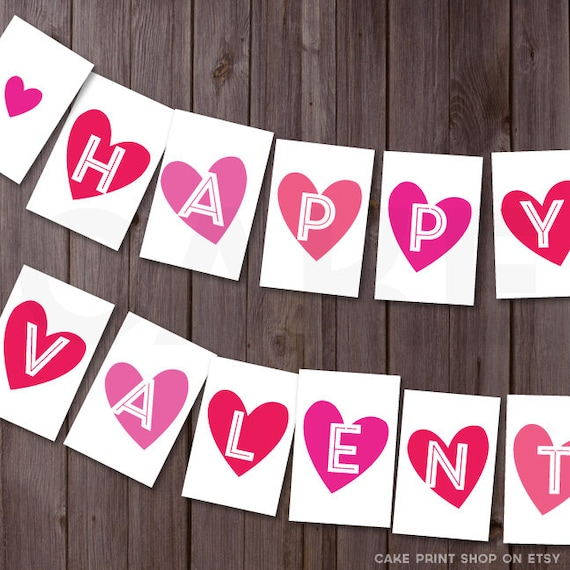 image about Happy Valentines Day Banner Printable called Solutions very similar in the direction of delighted Valentines working day Banner, valentines