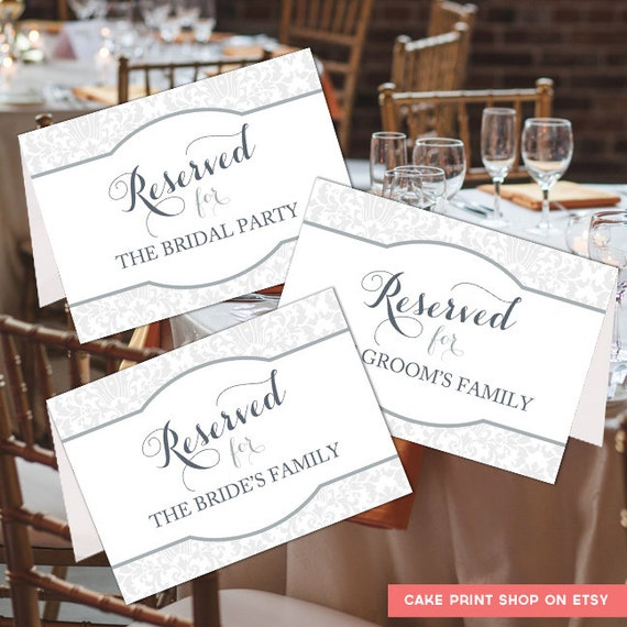 image relating to Printable Reserved Signs for Wedding identified as Printable Reserved Indication, Bride and Groom Reserved Indications, Printable Marriage ceremony Reserved Signal, Calligraphy wedding ceremony signs or symptoms, Bridal Occasion reserved