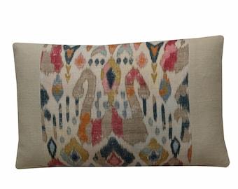 Jane Churchill Carnival 18x18 Pillow Cover
