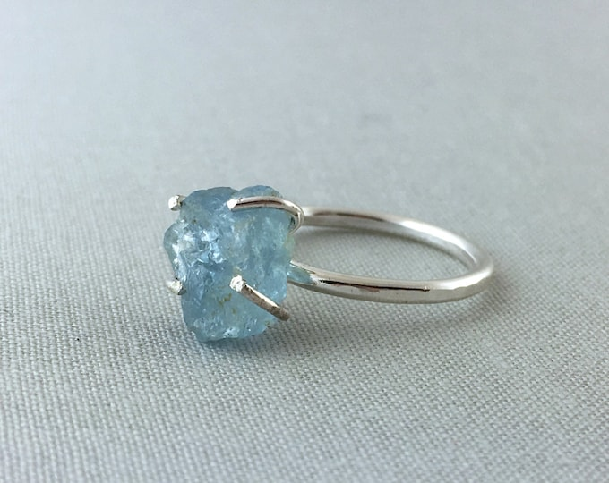 Catalina Ring - Aquamarine / California Collection