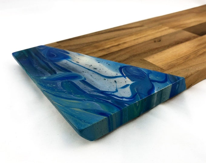 Blue Marbled Cheese Board