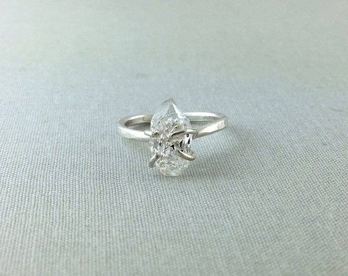 Catalina Ring - Herkimer Diamond / California Collection // herkimer diamond ring, sterling silver, boho jewelry, gemstone ring, quartz ring