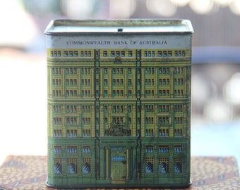 Vintage Commonwealth Bank of Australia Money Box Collectors Replica 48 Martin Place