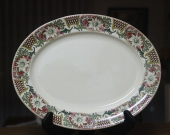 Vintage 1950's Johnson Brothers of England  Serving or charger plate