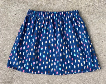 Ice Cream Skirt, Ice Cream, Ice Cream Cones, Summer Skirt, Popsicle Skirt, Food Skirt, Summer, Twirl Skirt, Baby Skirt, Toddler Skirt