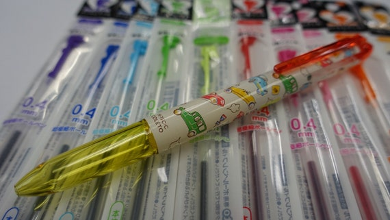 Pentel iplus 15 Colors Sliccies Refills 0.4mm Registered Shipping