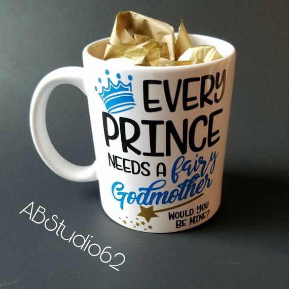 Godmother Gift Godmother Mug Will You Be My Godmother Fairy Godmother Be My Godmother Gift For Godmother Godmother Gift Ideas Baptism
