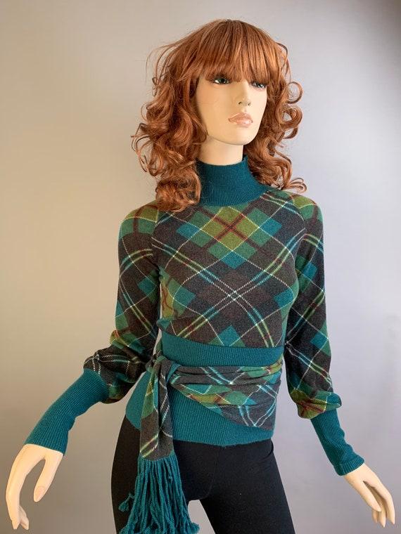 Vintage 90s Sweater// Lamb by Gwen Stefani Sweater