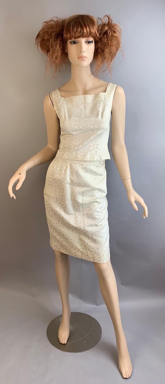 Vintage 60s Skirt and Top Set// Mod Skirt Set// Vi