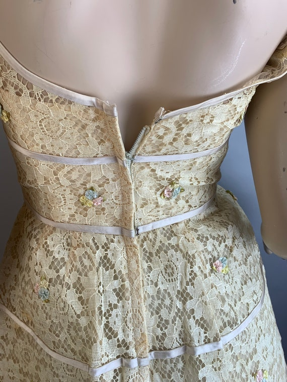 Vintage 60s Will Steinman Dress// 60s Prom Dress/… - image 6