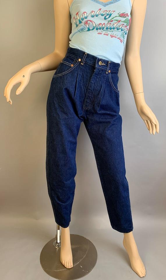 Vintage 80s Jeans// Vintage High Waist Lee Jeans/… - image 2