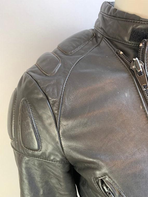 Vintage Motorcycle Jacket// 80s Motorcycle Jacket… - image 2