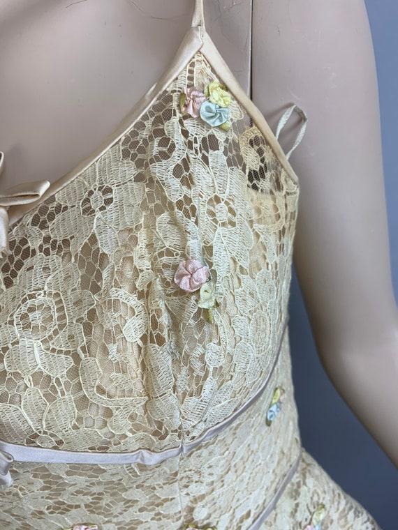 Vintage 60s Will Steinman Dress// 60s Prom Dress/… - image 8