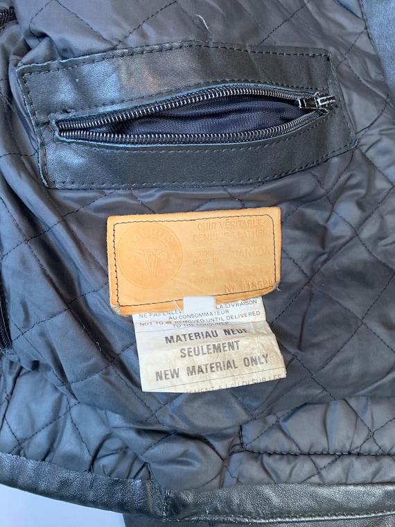 Vintage Motorcycle Jacket// 80s Motorcycle Jacket… - image 6