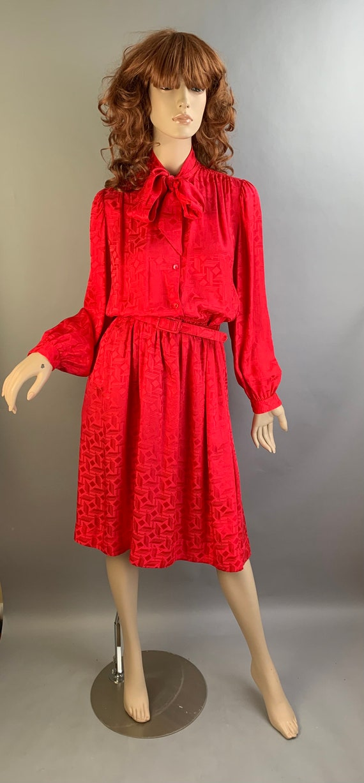 Vintage Halston Dress// Halston III Secretary Dres