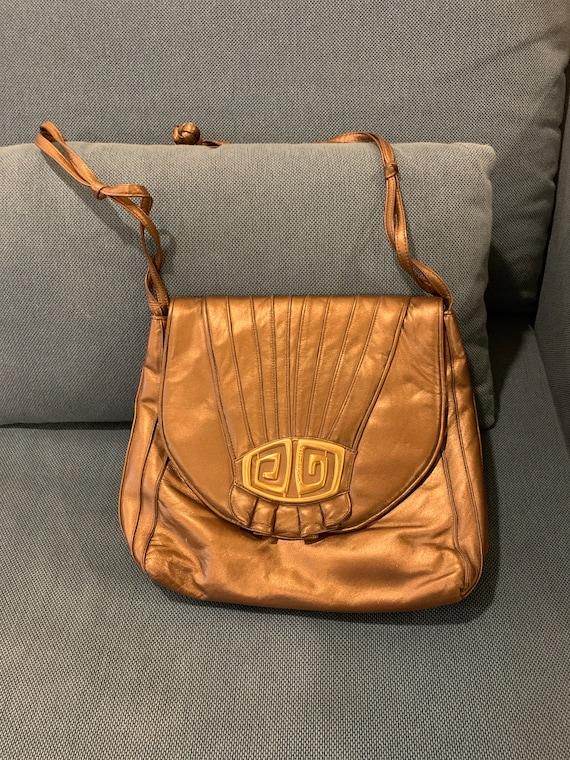 Vintage Sharif Handbag// Vintage 80s Designer Shou