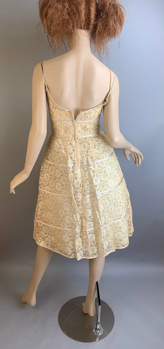 Vintage 60s Will Steinman Dress// 60s Prom Dress/… - image 4
