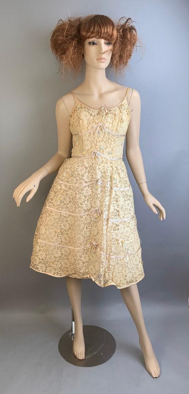 Vintage 60s Will Steinman Dress// 60s Prom Dress/… - image 2
