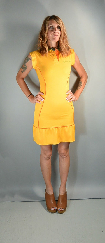 90s Tennis Dress// 90s Johnney Girl Dress// Polo … - image 1