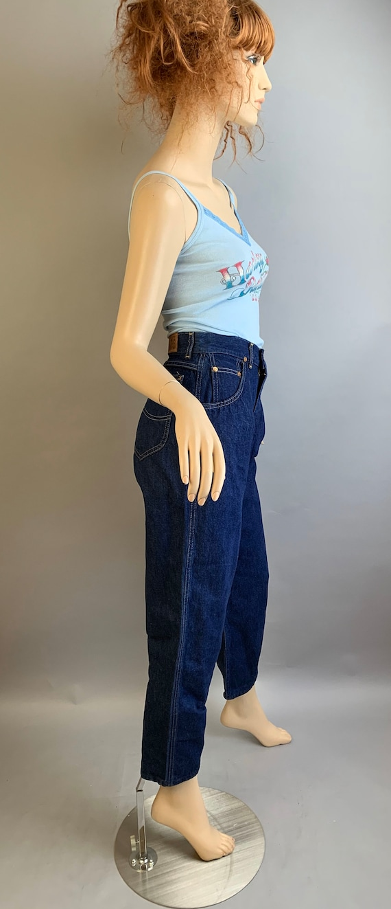 Vintage 80s Jeans// Vintage High Waist Lee Jeans/… - image 4