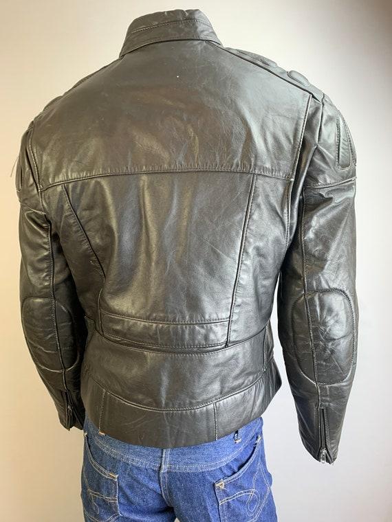 Vintage Motorcycle Jacket// 80s Motorcycle Jacket… - image 4