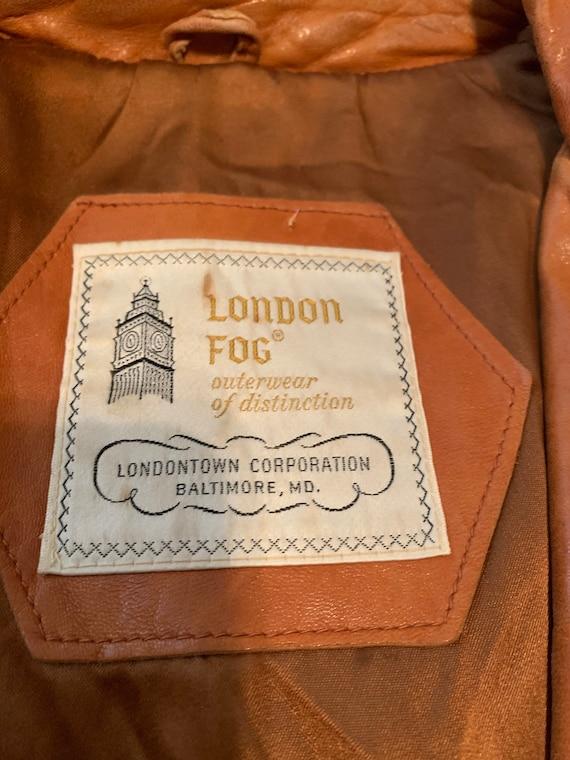 Vintage Mens Leather Blazer// 70s Brown Soft Leat… - image 7