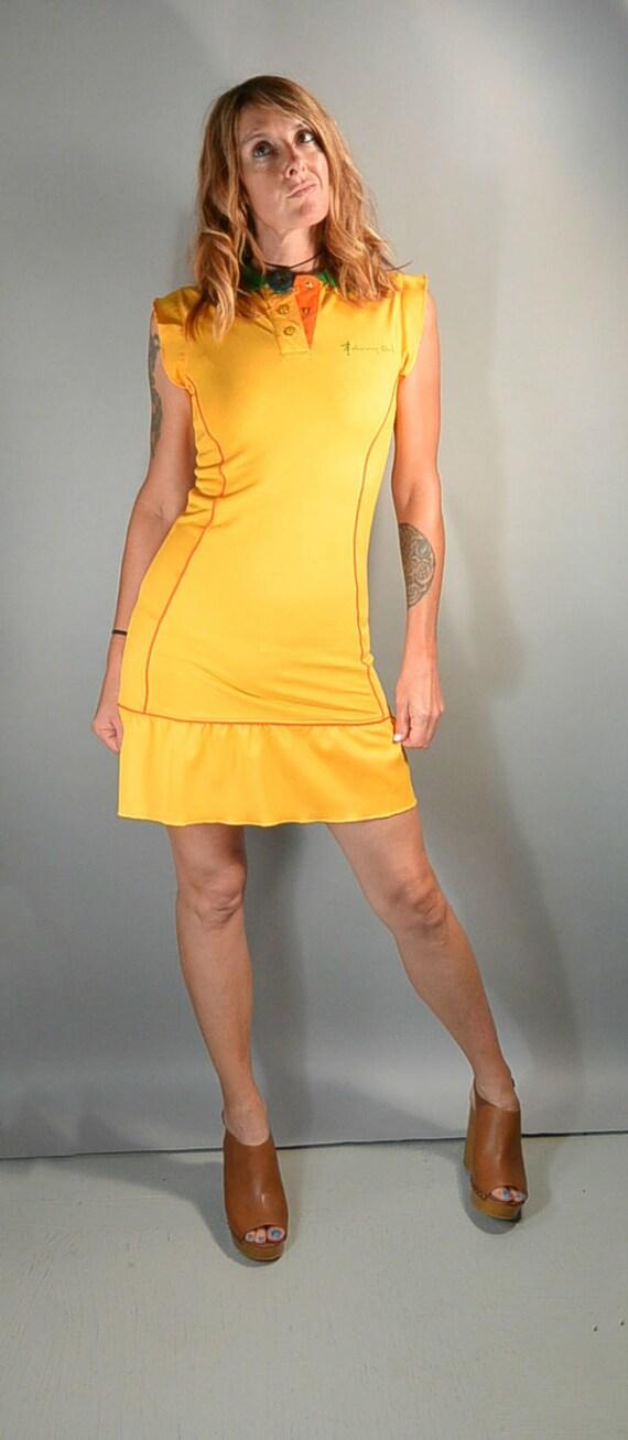 90s Tennis Dress// 90s Johnney Girl Dress// Polo … - image 3