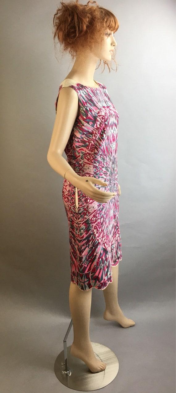 Psychedelic 60s Dress// Pucciesque Vintage Dress/… - image 5