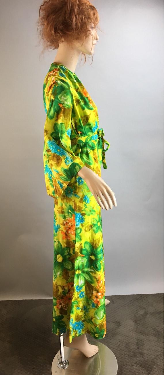 Vintage 60s Jumpsuit// Psychedelic Cotton Jumpsui… - image 5