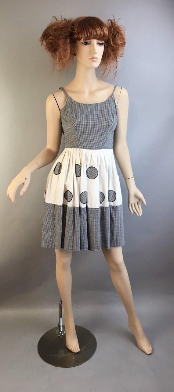 Petite 50s Dress// Vintage XXS Ladies or Childs 50