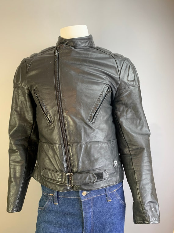 Vintage Motorcycle Jacket// 80s Motorcycle Jacket/