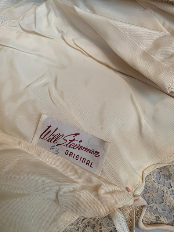 Vintage 60s Will Steinman Dress// 60s Prom Dress/… - image 9