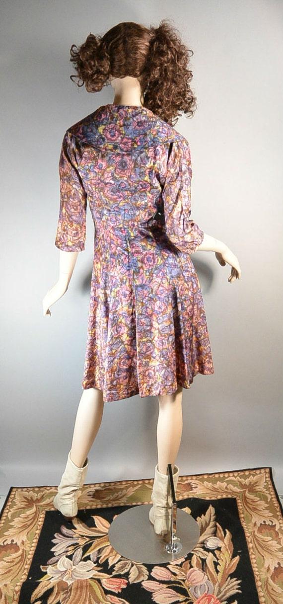50s Swing Dress// Mad Men Dress// Prom Dress with… - image 4