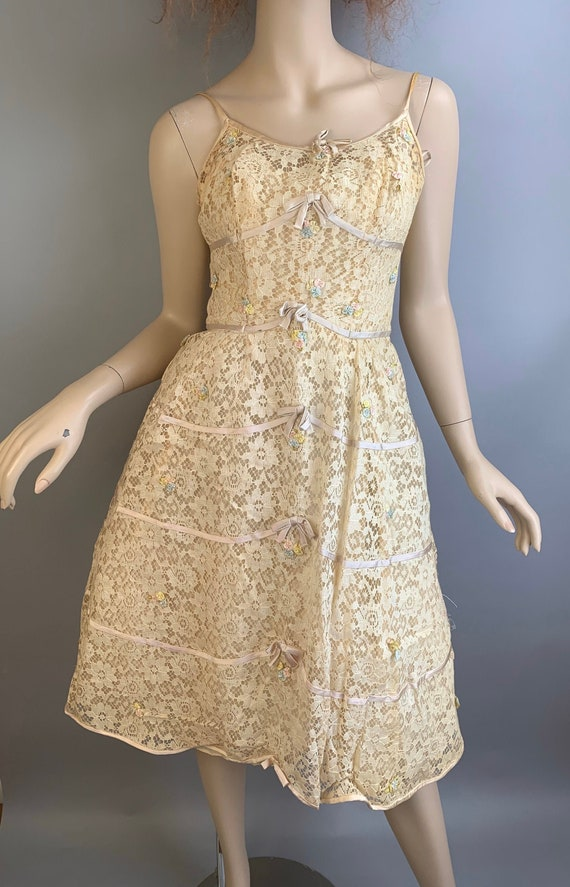 Vintage 60s Will Steinman Dress// 60s Prom Dress//