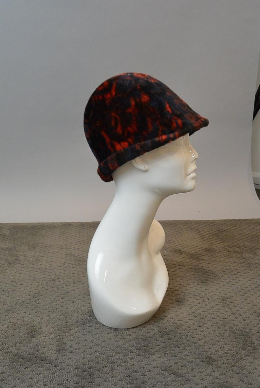 69950191c4e 60s Cloche Hat   Faux Fur Cloche   Mod 60s Hat F1
