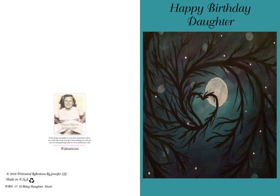 Give This Sentimental Birthday Card To A Daughter Or Someone Etsy