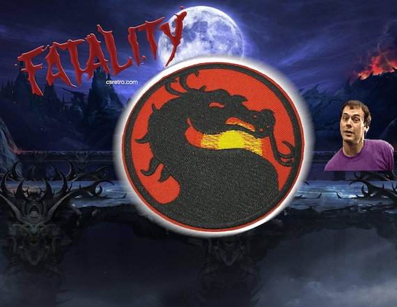 Mortal Kombat Classic Video Game Iron on Embroidered Patch applique