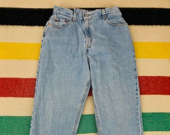 Relaxed Tapered Made In USA  28W 30L High Waist. Levi/'s 550 Jeans