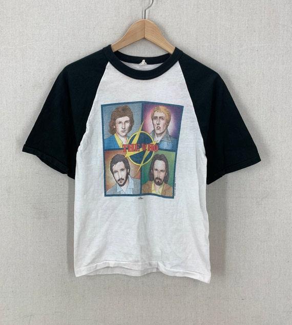 Vintage 70's The Who Soft 50/50 Raglan Rock Band T