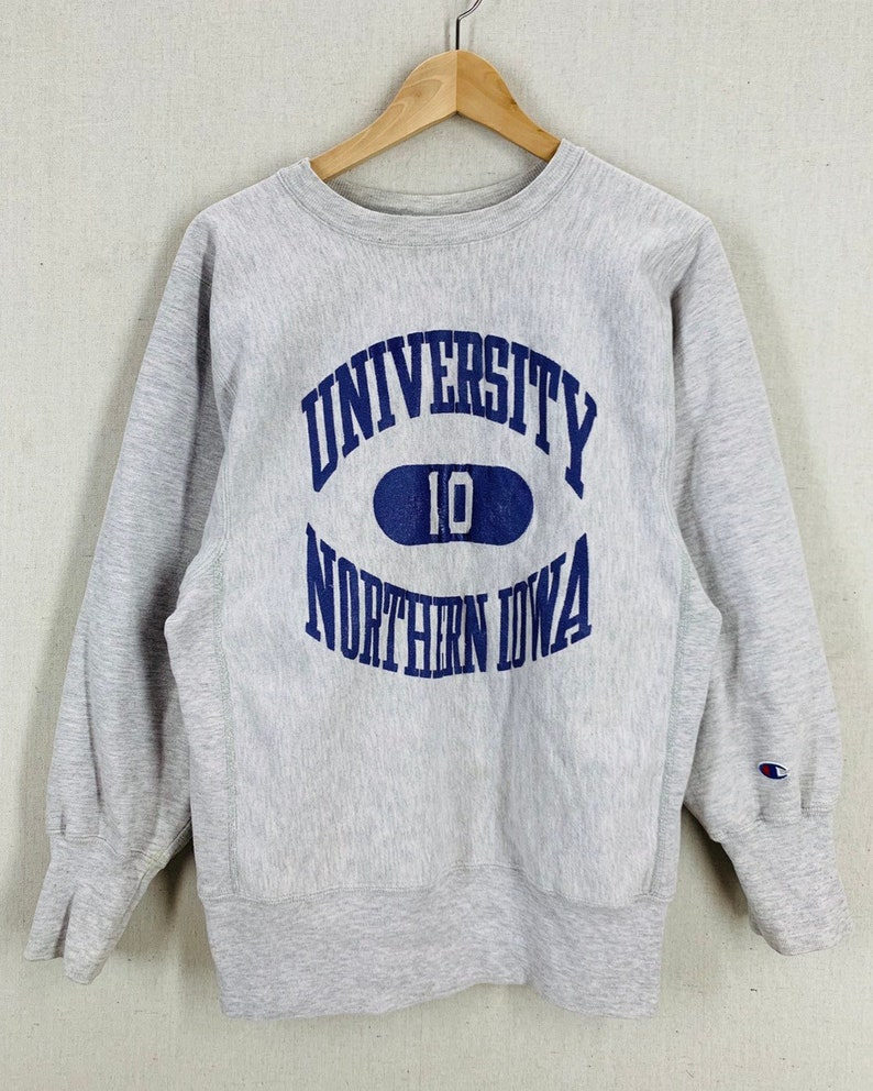 12afe846 Vintage 80's Northern Iowa University Heather Gray | Etsy