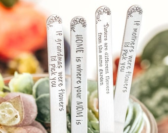 Plant Markers, Garden Decor, Mother's Day Gift, Plant Mom Gift, Garden Gifts, Garden Stakes, Keepstakes™