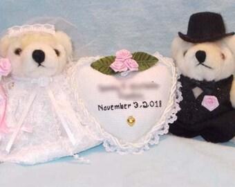 0457df3a31d Bear bride and groom