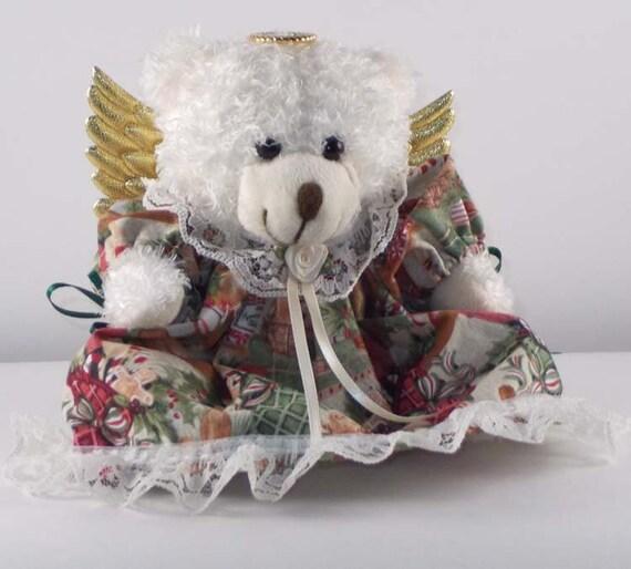 Keepsake Bear Old Fashioned Christmas Décor Gift Bear or | Etsy