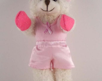 Cancer Patient Gift/Teddy Bear Gift/Cancer Fighter/Breast Cancer Gift/Cancer Fighter Gift/Fight Cancer/Cancer Fighter/Cancer Encouragement